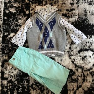 Nautical boys outfit